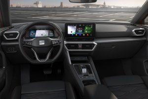 Interiör nya SEAT Leon
