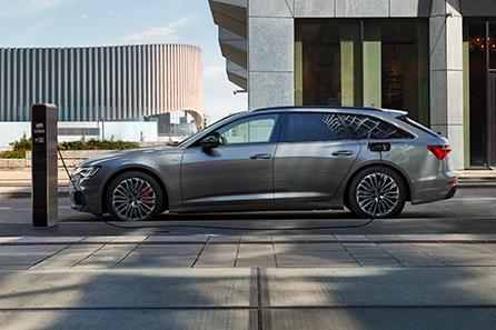 Audi A6 Avant laddhybrid