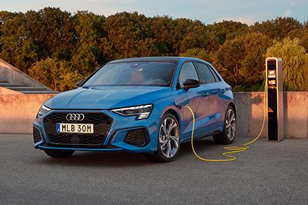 Audi A3 laddhybrid